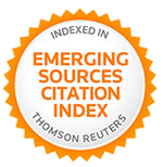 Indexed by Emerging Sources Citation Index